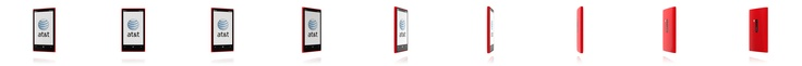 Nokia Lumia 920 - High Gloss Red cell phone from AT