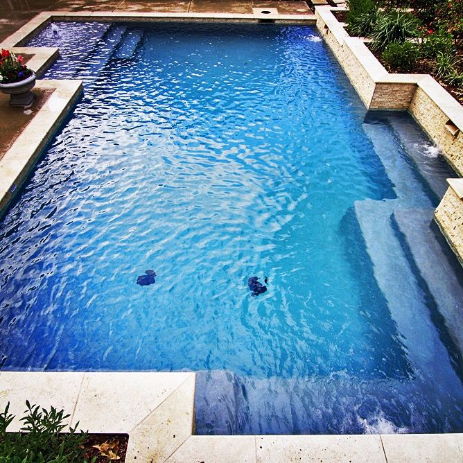 38 best images about straight line pools on pinterest for Pool design 1970