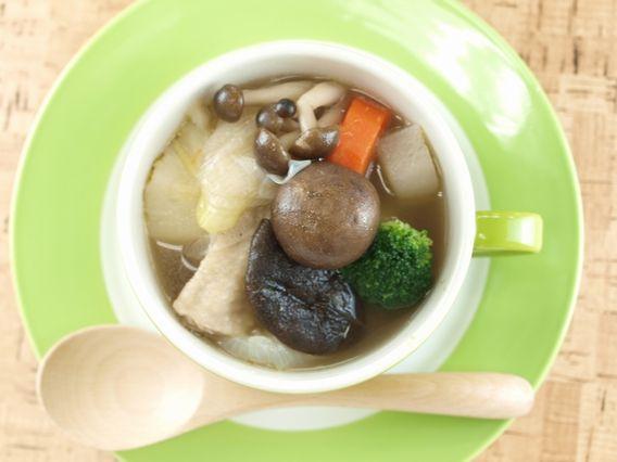 ⑨野菜スープレシピ『きのこたっぷりポトフ』【裕子先生のきのこスープレシピ】