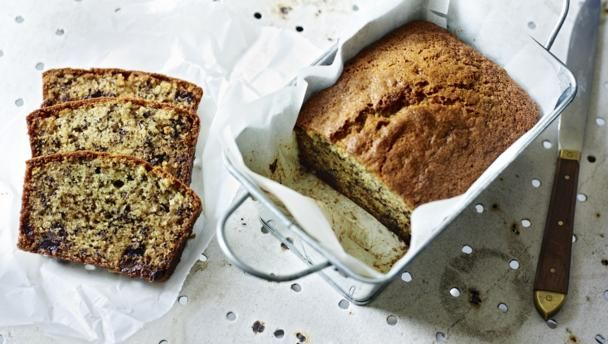 Mary Berry.  This is such an easy cake to make and an ideal way to use overly ripe bananas.