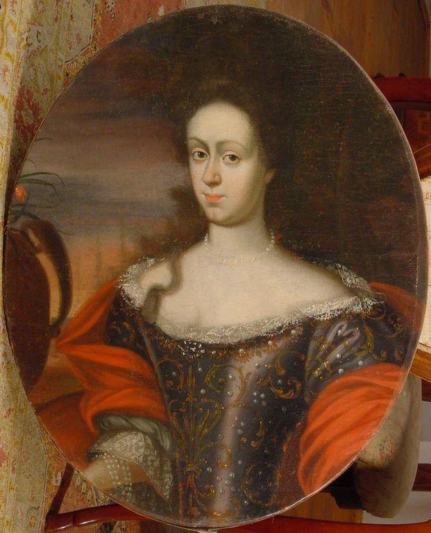 Мария Анна Тереза фон Тальберг. 1690-ые годы.
