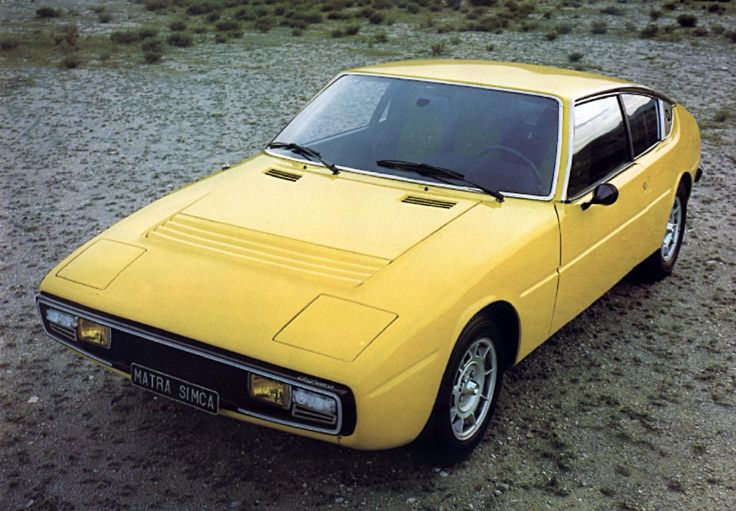 Matra Simca Bagheera, Yellow