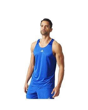 The Response Singlet from Adidas will keep you running for longer. The singlet is made from moisture-wicking climalite® fabric with a racer back style, regular fit and reflective details. Made with 100% recycled polyester. Buy Now http://www.outsidesports.co.nz/new-in/ADIAA0650/Adidas-Response-Singlet---Men's.html#.Vg3waPmqpBc