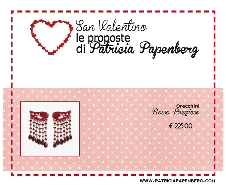 Rosso Prezioso | Orecchini Rubini, Granata  http://www.patriciapapenberg.com/it/rosso-prezioso-earings-1618-red  #orecchini #earings #sanvalentino