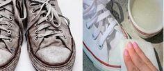 Truque caseiro para limpar seus sapatos e deixá-los como novos em 30 minutos!   Cura pela Natureza