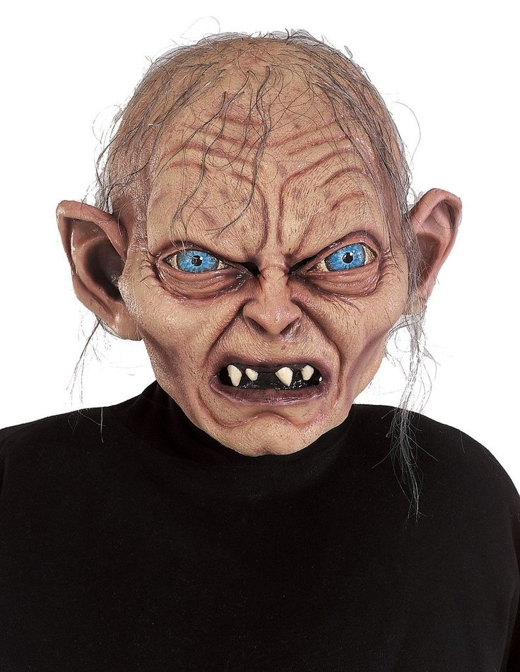 Gollum Mask- Lord Of The Rings Full over the head mask with attached hair. This is an officially licensed The Lord of The Rings - The Two Towers mask. Weight (lbs) 0.78 Length (inches) 14 Width (inche
