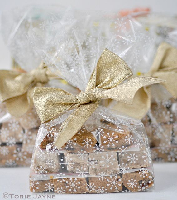 Fudge packaged up