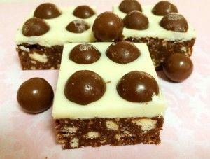 Malteser Slice - Bake Play Smile
