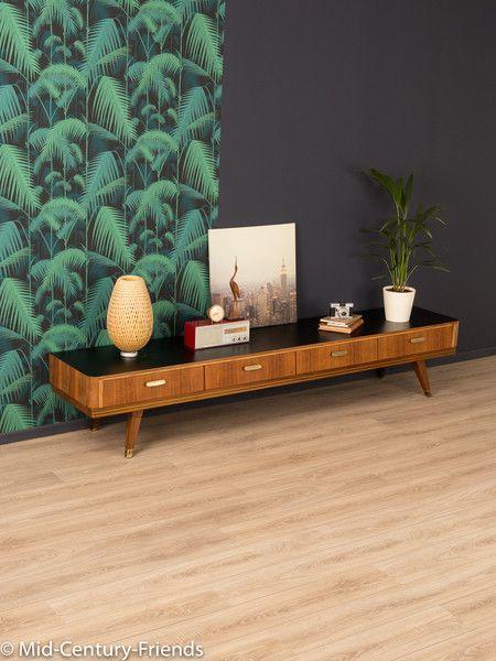Vintage Kommoden - 50er Sideboard, Lowboard, Vintage, 60er - ein Designerstück von Mid-Century-Friends bei DaWanda