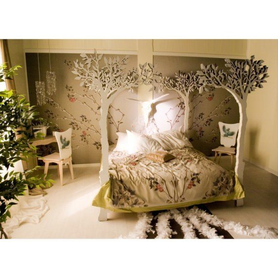 fairy dreams: Little Girls, Trees Beds, Bedrooms Design, Decoration Idea, Bedrooms Idea, Beds Frames, Girls Rooms, Modern Bedrooms, Fairies Tales