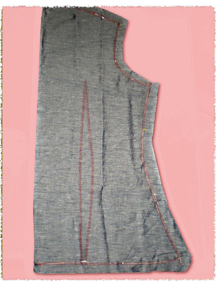 Come trasferire i segni del cartamodello sul tessuto senza usare i punti lenti