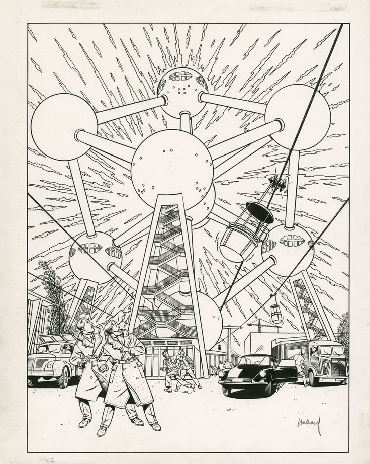 Yves Chaland – Master of the Atomium?