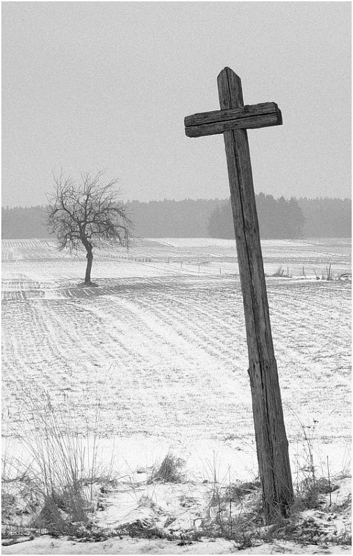 """Cross"" Podlasie Province, Poland by Janusz Kajzer (ghost_dog72)©"