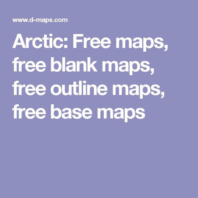 Arctic: Free maps, free blank maps, free outline maps, free base maps