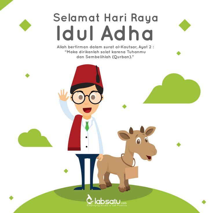 -Selamat Hari Raya Idul Adha 1436 H-  Menyembelih hewan kurban merupakan perwujudan rasa syukur atas segala nikmat yang telah Allah SWT beri.  Bagi sesiapa yang bersyukur, maka akan bertambah nikmatnya. Aamiin..  #LabSatu #IdulKurban