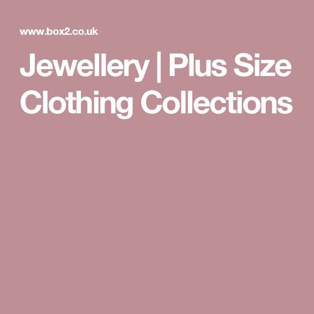 Jewellery | Plus Size Clothing Collections