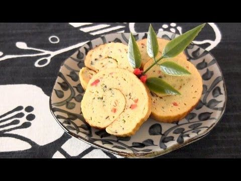 How to Make Datemaki (Sweet Rolled Omelet) Osechi-Ryōri Recipe 伊達巻の作り方 おせち料理 レシピ - YouTube