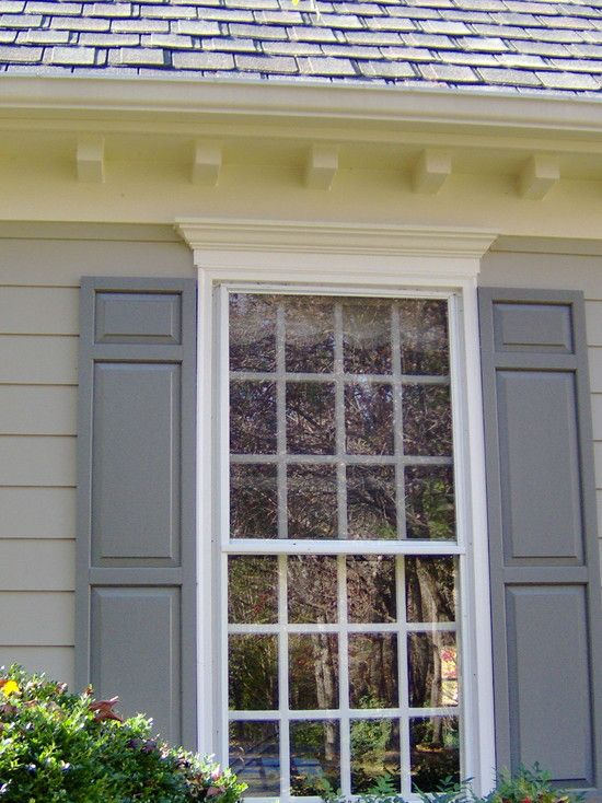 Painted Room Exteriors   traditional   exterior   dc metro   The Painted  Room114 best Exterior window and door molding images on Pinterest  . Exterior Window Molding. Home Design Ideas