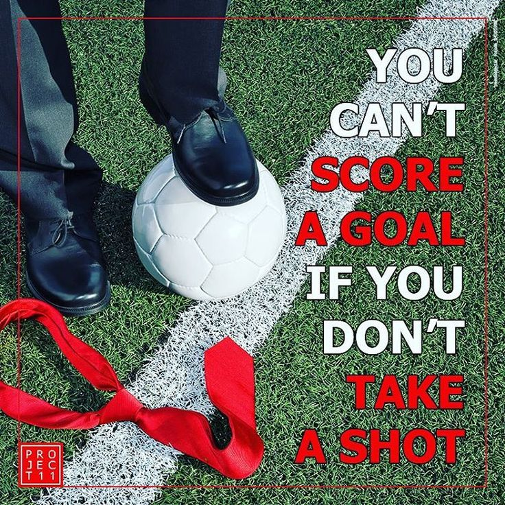 Associate your brand with the best teams in the world, for the opportunity to score a goal! ⚽ #sportsmarketing #sportsadvertising #soccer #goals #quotes