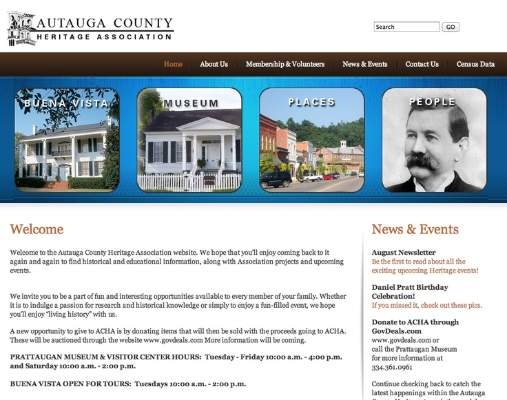 Autauga county heritage association bws websites pinterest for Custom home designs prattville