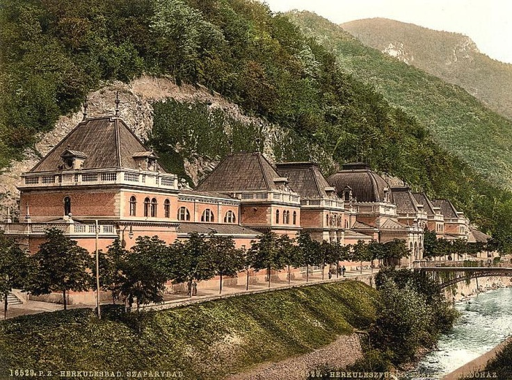 Băile Herculane - pe la 1900