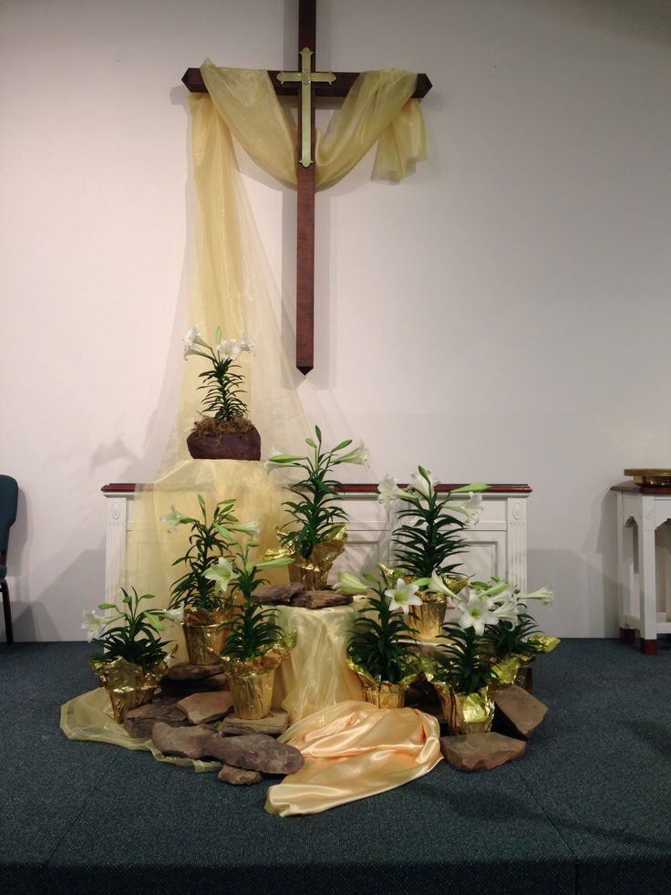 1062 best images about church on pinterest fishers of for Altar decoration ideas