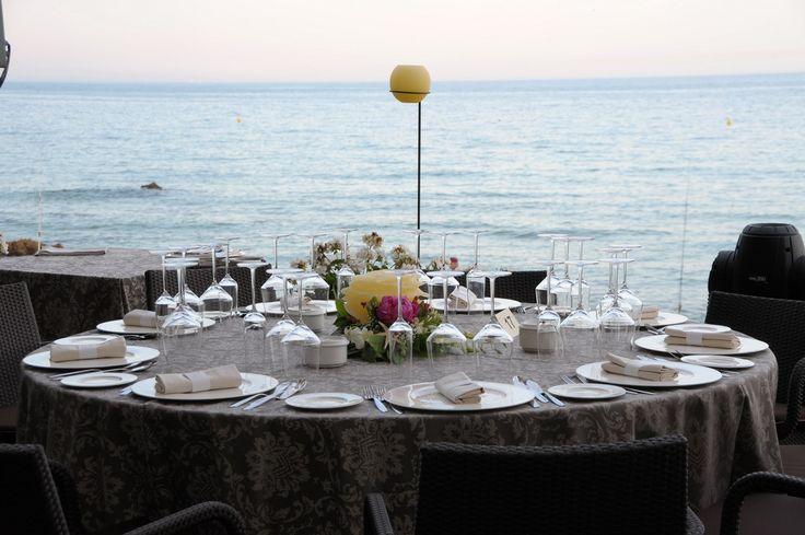 Banqueta playa Hotel Santa Marta