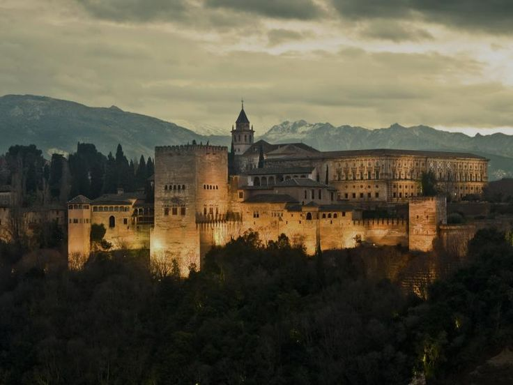 #Alhambra. #Sunset over #Andalusia pearl. Альгъамбра. #Испания.