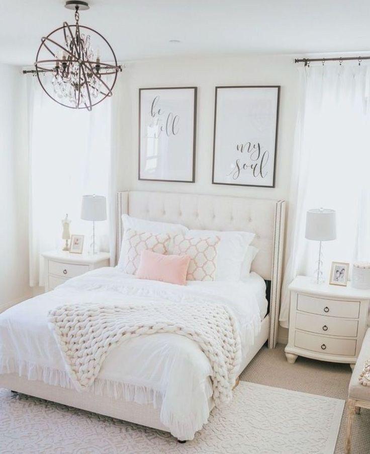 ✔44 schickes Schlafzimmer Deko-Ideen für Teenager-Mädchen 43 #bedroomideas #bedroomforteens