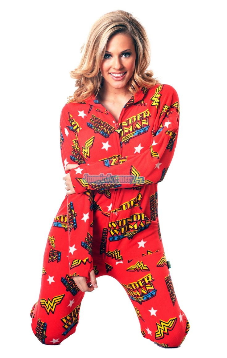 2 piece adult footie pajamas