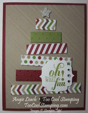 Christmas tree card - simple but beautiful!