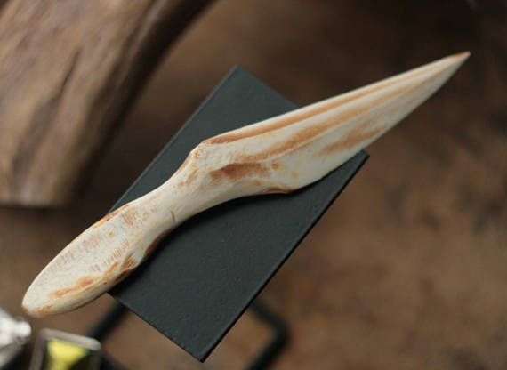 Bone Ritual Athame Witches Altar Tool Solid Bone Knives Etsy Athame Witches Bone Carving Knife