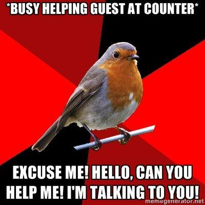 Retail Robin....
