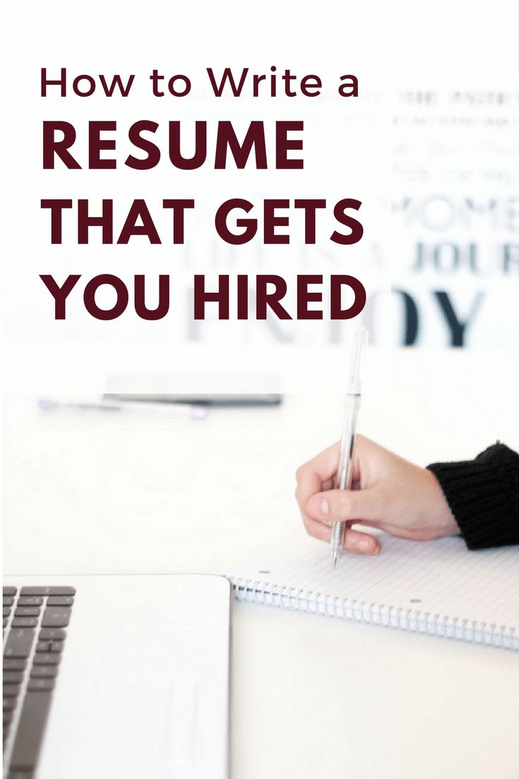 Charming Write A Resume That Gets You Hired: 6 Common Resume Mistakes To Avoid