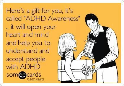 Thank you, ADHD is real, I have suffered from it my whole life.Sorry to the people I have hurt because of my ADHD and to the people who love me and have stuck by my side, thank you soooo much- I can't even begin to describe how thankful I am for you guys. You help me become a better version of myself and I love you for that. I wish I could afford an ADHD coach and afford all the help I need, but I can't really so I am trying my best to help myself...xoxo