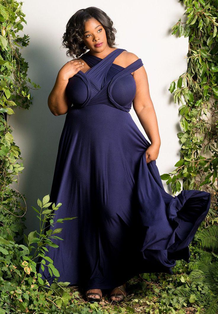 Plus Size Convertible Dress Skirt Fashion Plus Dress