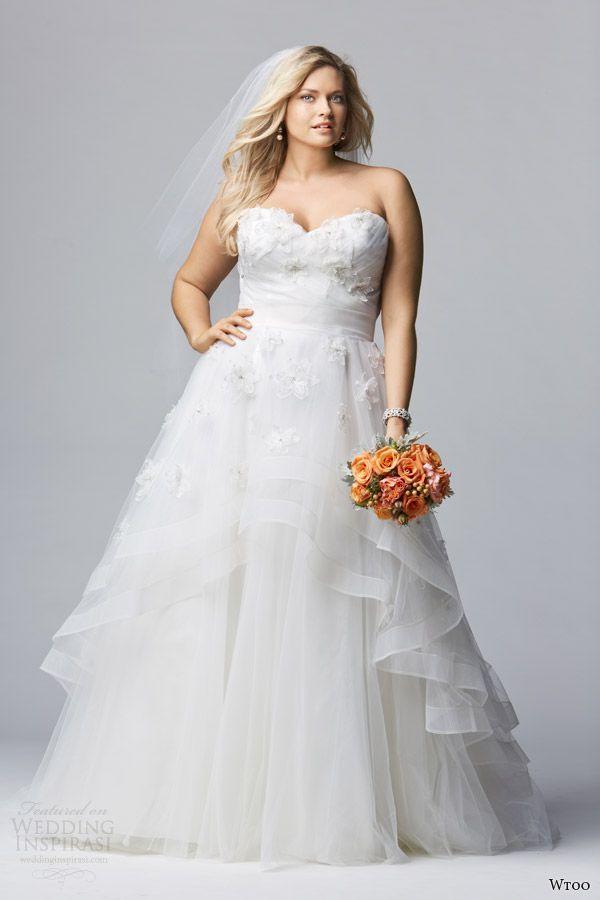 85 best Curvy Couture images on Pinterest   Wedding dressses ...