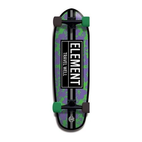 ELEMENT Cruiser Skateboard MAMBA MAHALO Complete 9.25 in x 29.75 in