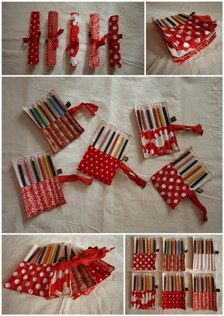 Lápis de muitas cores