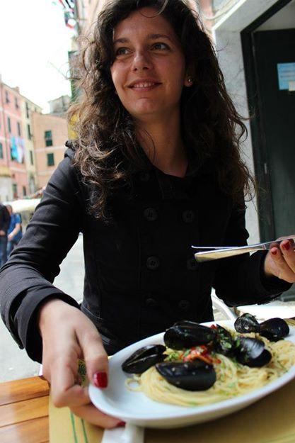 Riomaggiore, Cinque terre, spagetti ala vongole