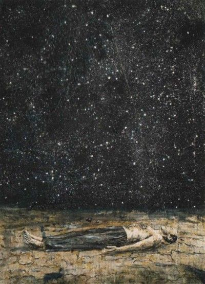 """""""Sometimes we must surrender our own will for the greater good to come through. We are called to make ourselves vulnerable for a time, without answers or goals, sacrificing our plans to perceive a more mythic & wholistic calling.""""    © 2015 Toko-pa Turner (Click on the picture to read more).  Artwork by Anselm Kiefer"""