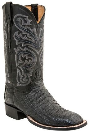 georgetowncowboyboots - H2021-Cal Lucchese Since 1883 Heritage Hornback Horseman Caiman Boots Black, $875.00 (http://www.georgetowncowboyboots.com/h2021-cal-lucchese-since-1883-heritage-hornback-horseman-caiman-boots-black/)
