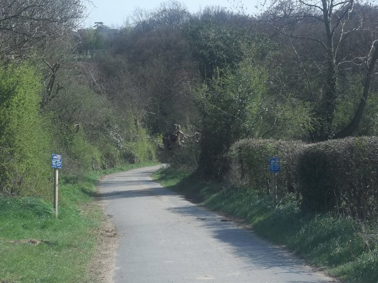 Crab and Winkle Way, near Blean Church