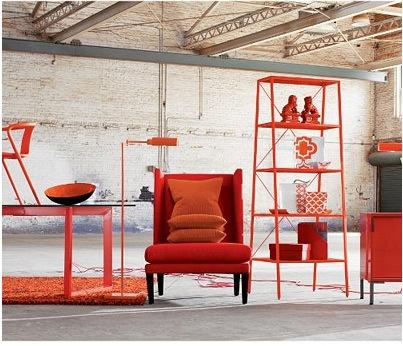 a great orange bookcase - CB2 Hancock bookcase - 25 Best Images About Furniture On Pinterest Large Dresser