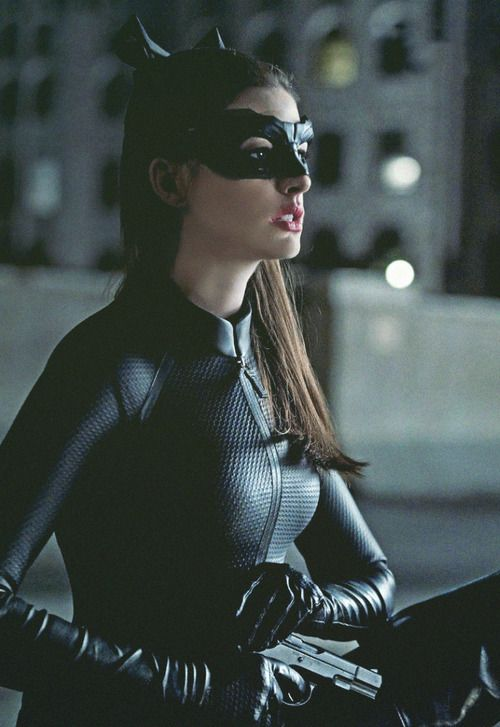 Anne Hathaway as Catwoman. Best casting decision ever!