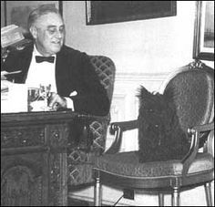 Franklin Roosevelt and Fala