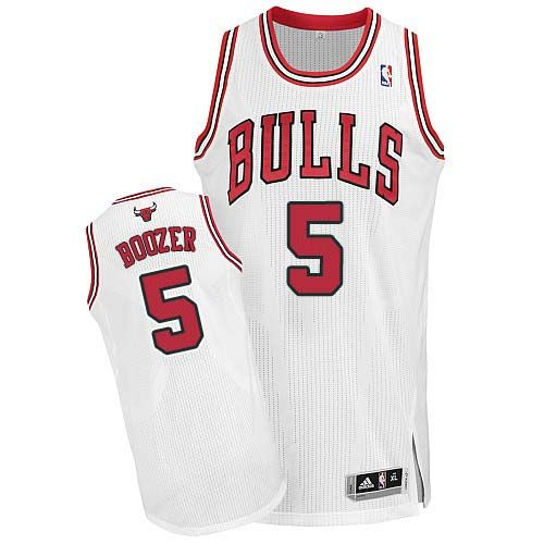 ... Chicago Bulls 5 Carlos Boozer Authentic Home White Jersey Carlos Boozer  jersey-Buy 100% official Adidas Carlos Boozer Mens Authentic White Jersey  NBA ... 3f871b00f