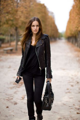 Balenciaga Jacket, Alexander Wang Top, Acne Studios Jeans, Balenciaga Bag, Alexander Wang Shoes
