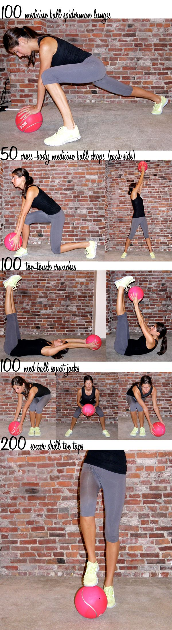 medicine ball workout
