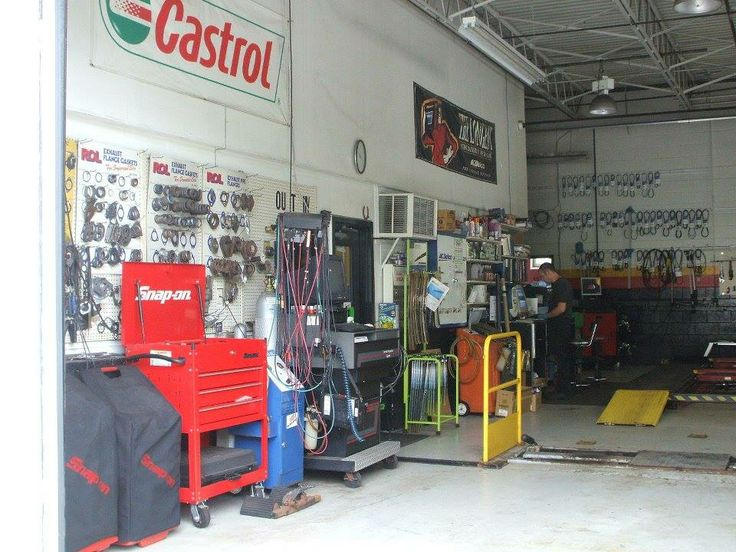 Just a peek inside Flash Automotive Repair...